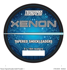TRONIXPRO TAPERED SHOCKLEADER 5Χ15Μ