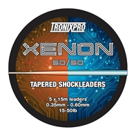 TRONIXPRO TAPERED SHOCKLEADER 5Χ15Μ 50/50